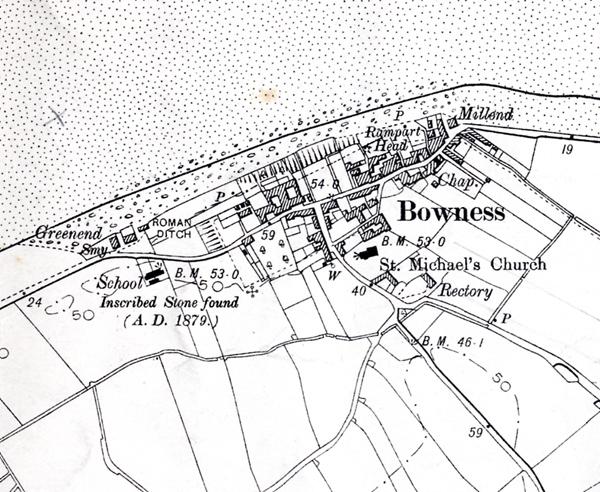 1901 OS Map